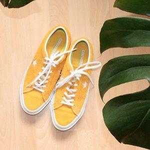 Converse One Stars - Yellow Womens AU 10
